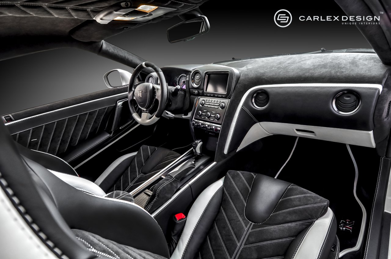 Exclusive interior for Nissan GTR | AR CARS, s.r.o.