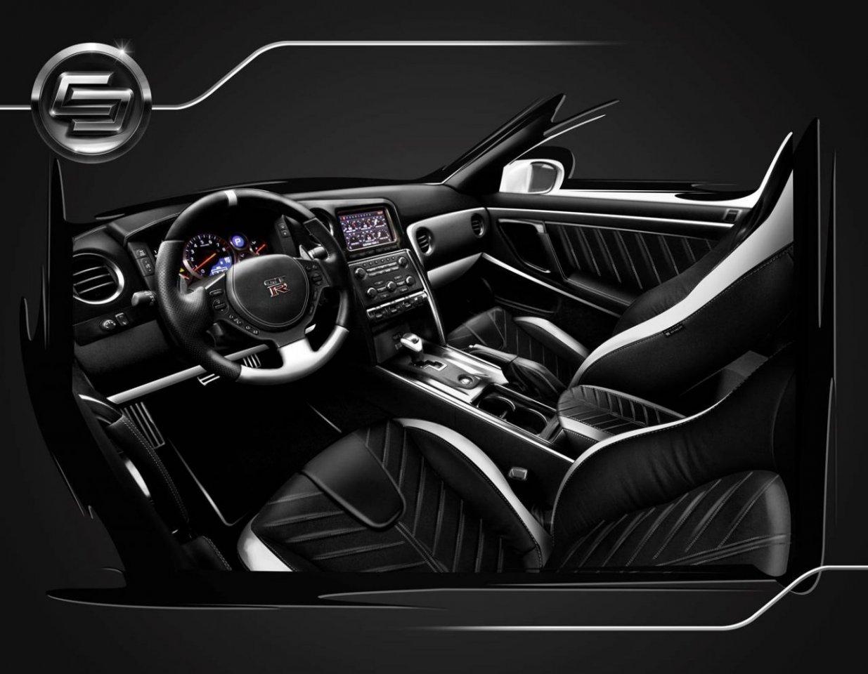 exclusive interior for nissan gtr | ar cars, s.r.o.