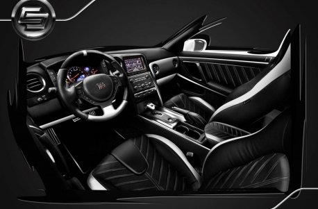 Exclusive interior for Nissan GTR